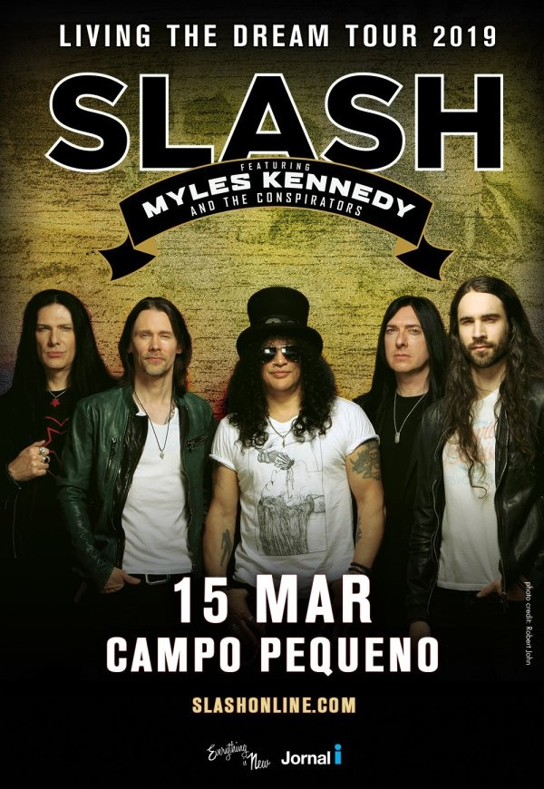SLASH ft. MYLES KENNEDY & THE CONSPIRATORS (Lisboa)