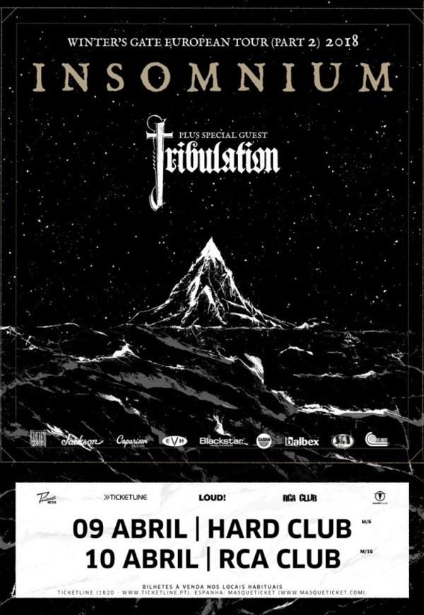 INSOMNIUM + TRIBULATION (Oporto)