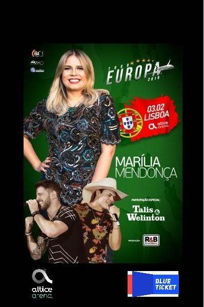 MARÍLIA MENDONÇA (Lisboa)