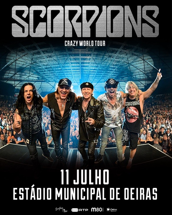 SCORPIONS | 'The Legends of Rock' en Oeiras, Lisboa