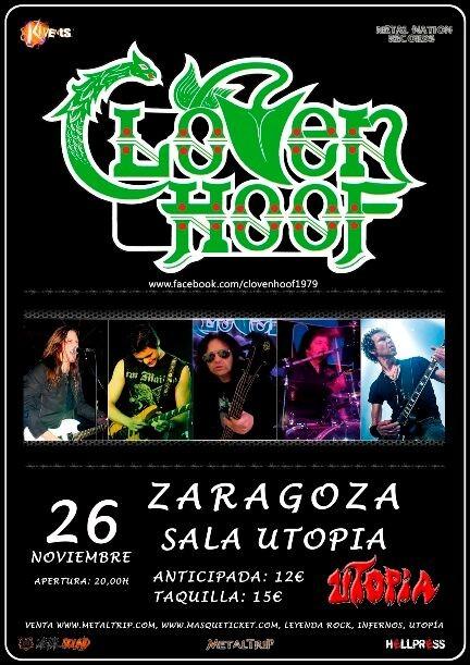 CLOVEN HOOF (Zaragoza)
