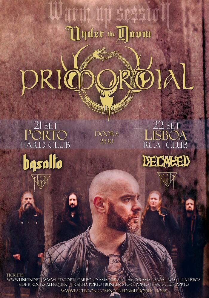 PRIMORDIAL (Oporto y Lisboa)
