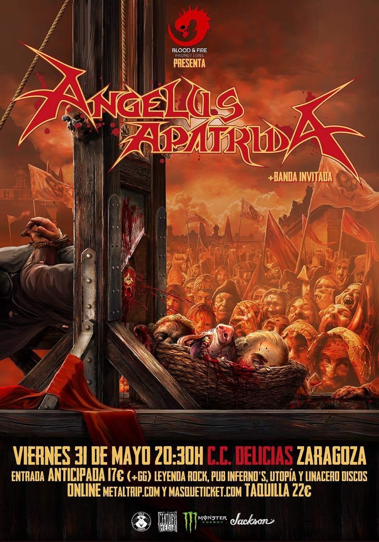 ANGELUS APATRIDA + Misantrophy (Zaragoza)