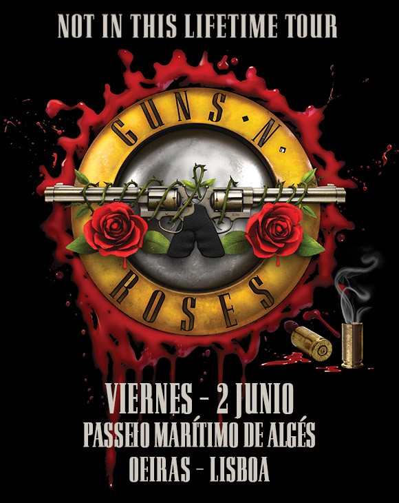GUNS AND ROSES (Lisboa)