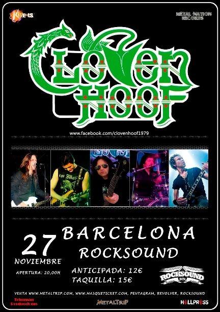 CLOVEN HOOF (Barcelona)