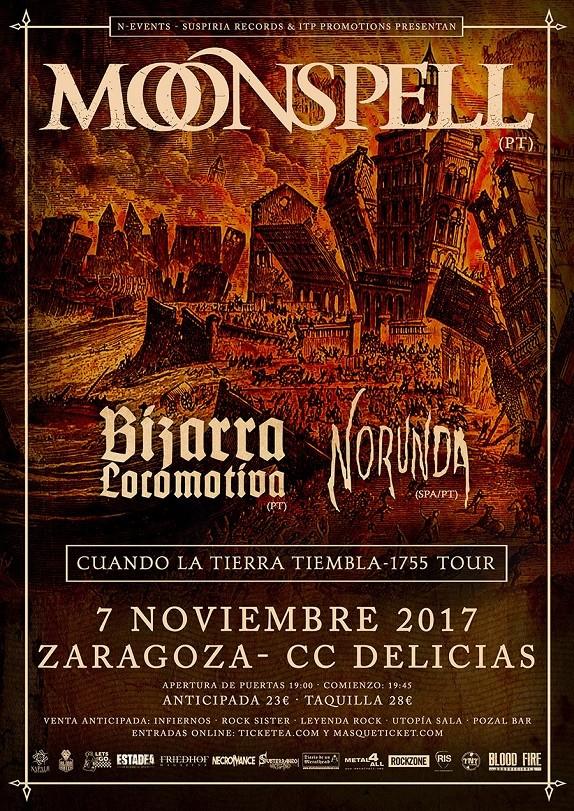 MOONSPELL (Zaragoza)