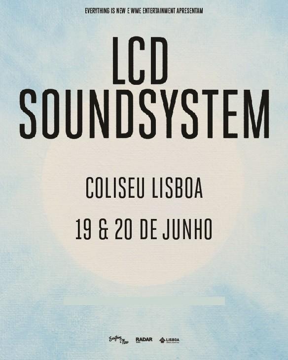 LCD SOUNDSYSTEM (Lisboa)