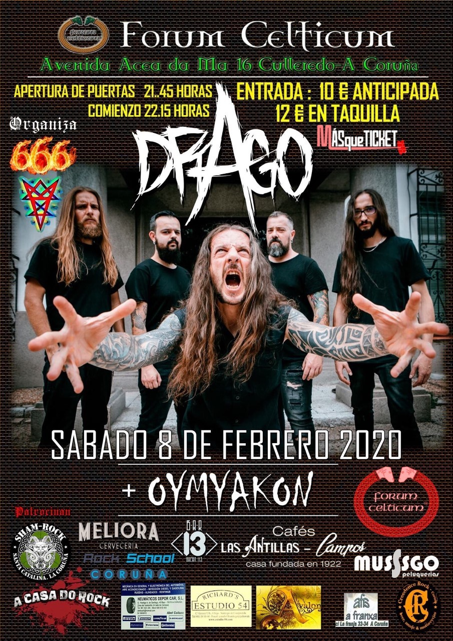 DRAGO + OYMYAKON (A Coruña)