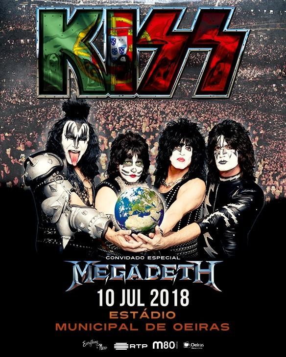 KISS + MEGADETH | 'The Legends of Rock' en Oeiras, Lisboa