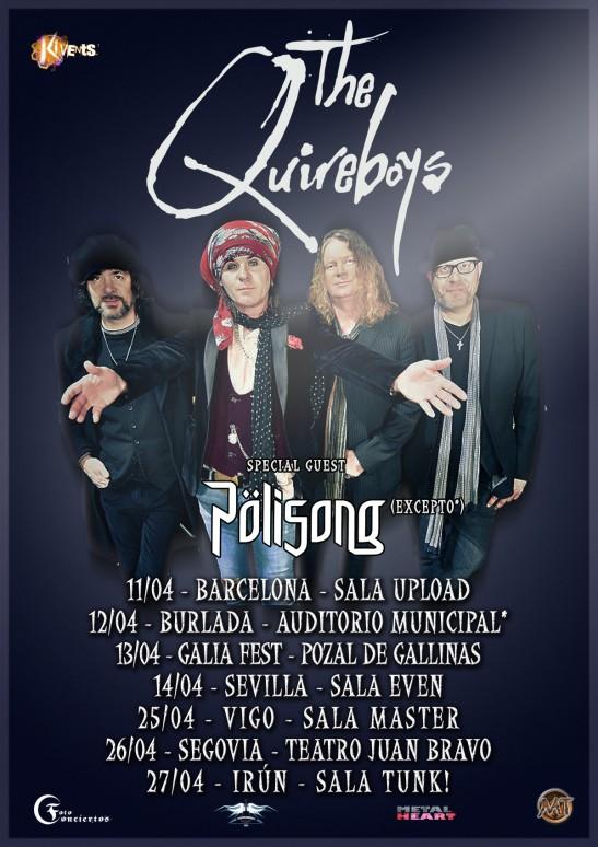 THE QUIREBOYS (Vigo)