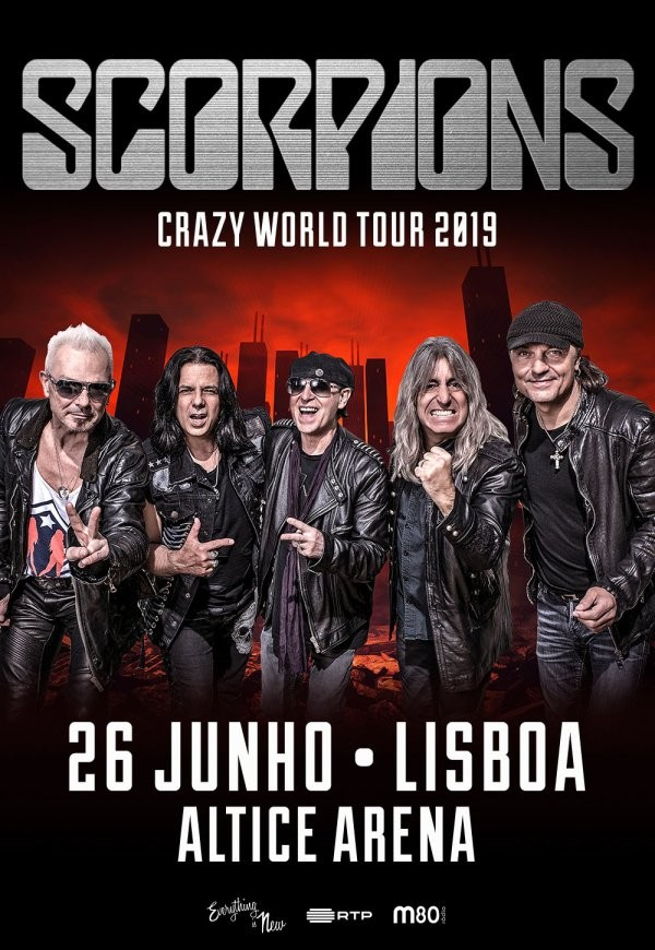 SCORPIONS - Crazy World Tour 2019 (Lisboa)