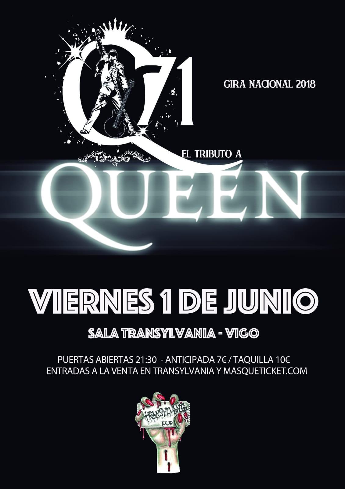 Q71 (Tributo QUEEN) - Vigo