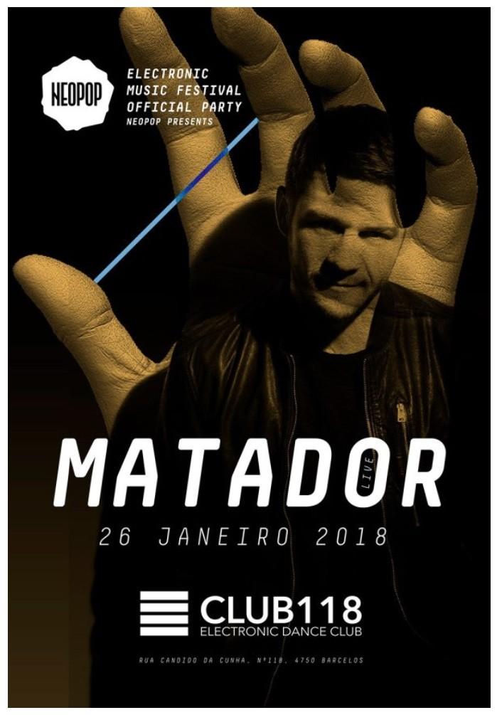 NEOPOP Presents MATADOR