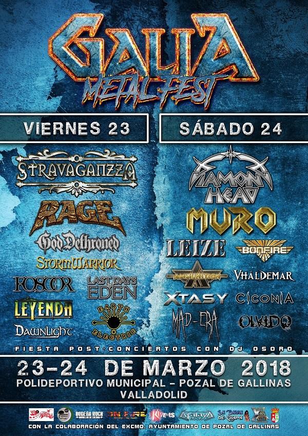 GALIA METAL FEST 2018 (Valladolid)