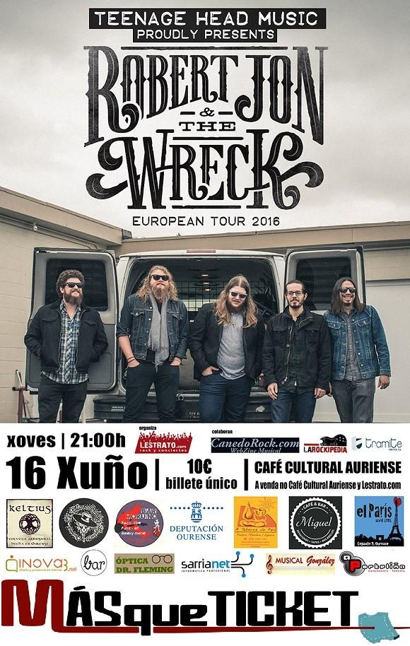 ROBERT JON & THE WRECK (Ourense)