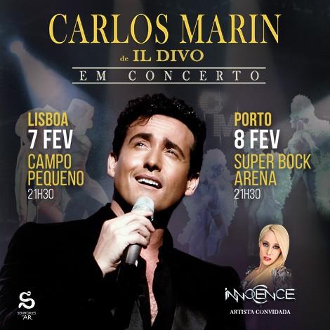 CARLOS MARIN de IL DIVO (Lisboa / Oporto) Portugal