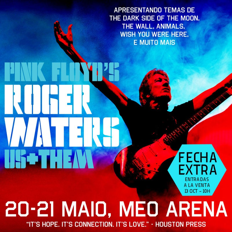 ROGER WATERS - Us + Them Tour (Lisboa) 21 mayo