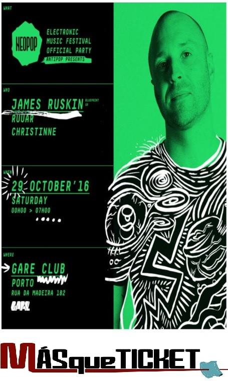 Antipop Presents JAMES RUSKIN