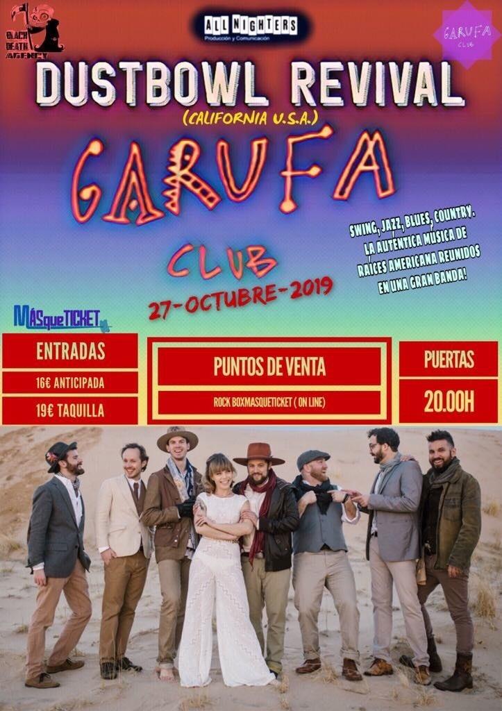 THE DUSTBOWL REVIVAL (A Coruña)