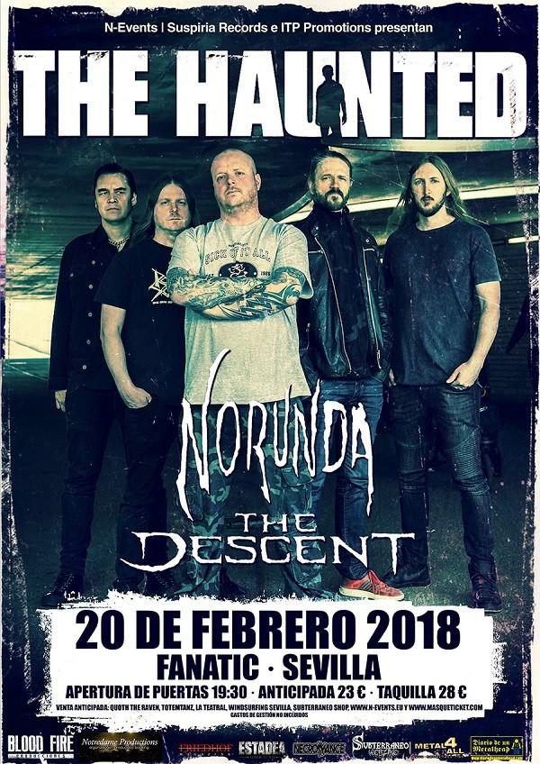 THE HAUNTED + NORUNDA + THE DESCENT (Sevilla)