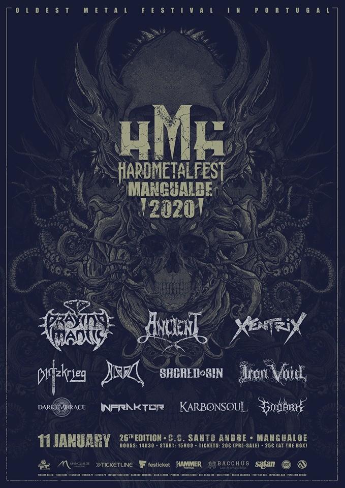 26º Hard Metal Fest 2020 | HardMetalFest Mangualde