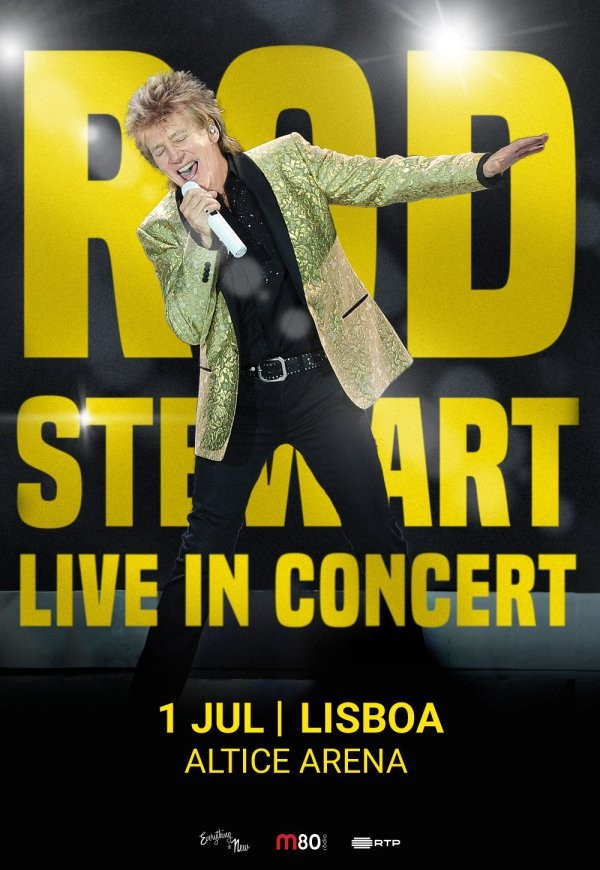ROD STEWART - Live in concert (Lisboa)