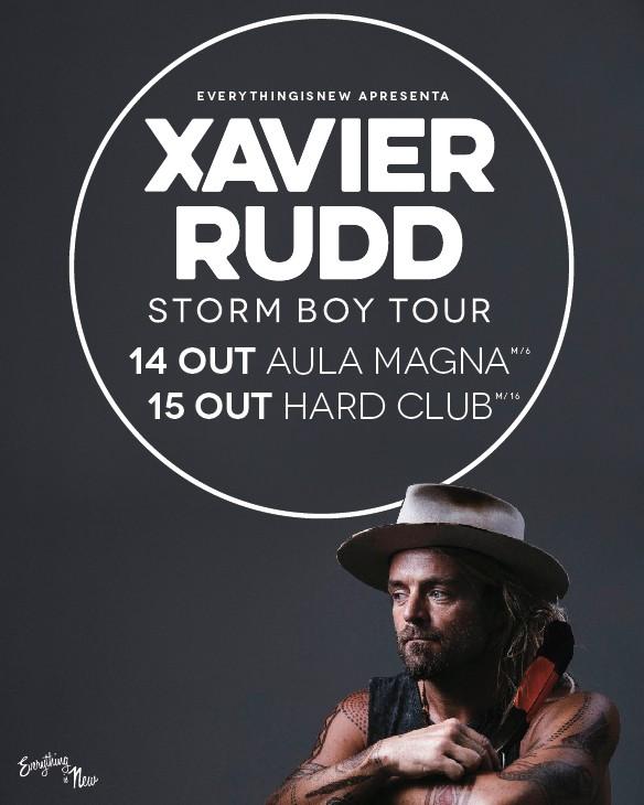 XAVIER RUDD - Storm Boy Tour (Lisboa y Oporto)