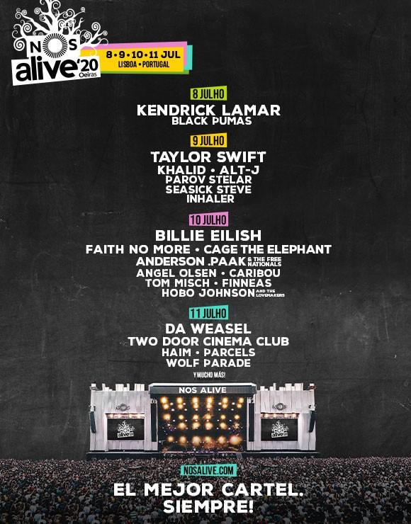 Festival NOS Alive 2020