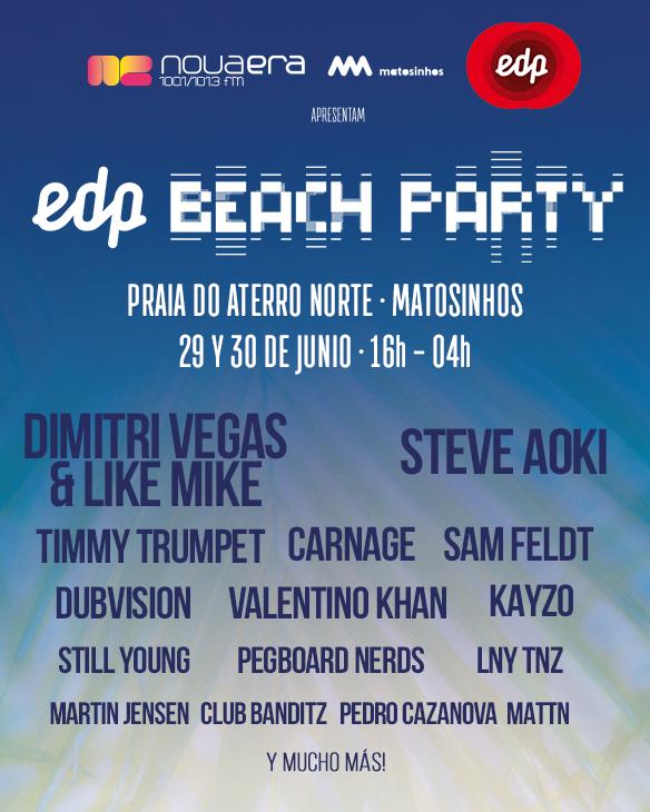 EDP NOVA ERA BEACH PARTY 2018 (Matosinhos)