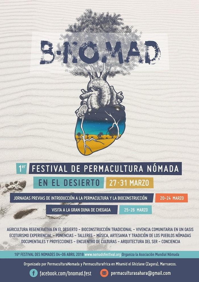 BNOMAD - 1ER FESTIVAL DE PERMACULTURA NÓMADA EN EL DESIERTO