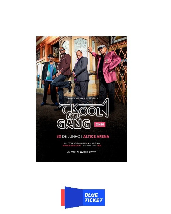 KOOL AND THE GANG (Lisboa)