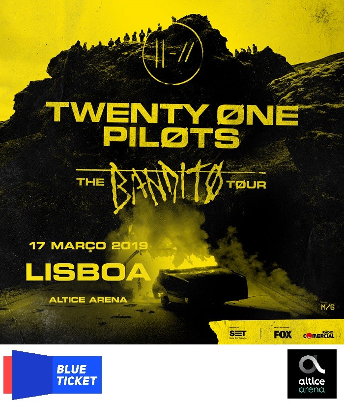 TWENTY ONE PILOTS (THE BANDITØ TØUR) en Lisboa