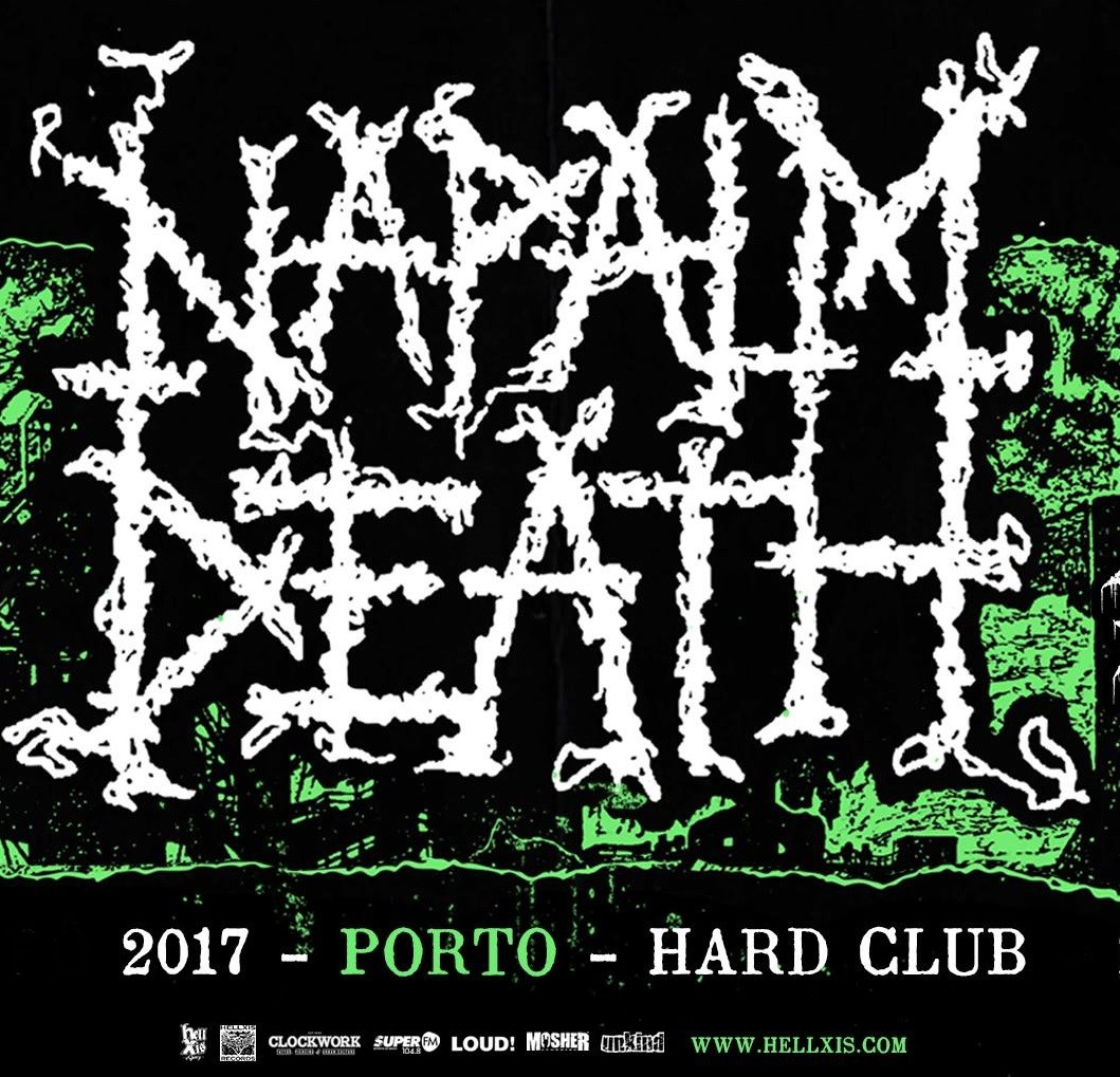 NAPALM DEATH (Oporto)