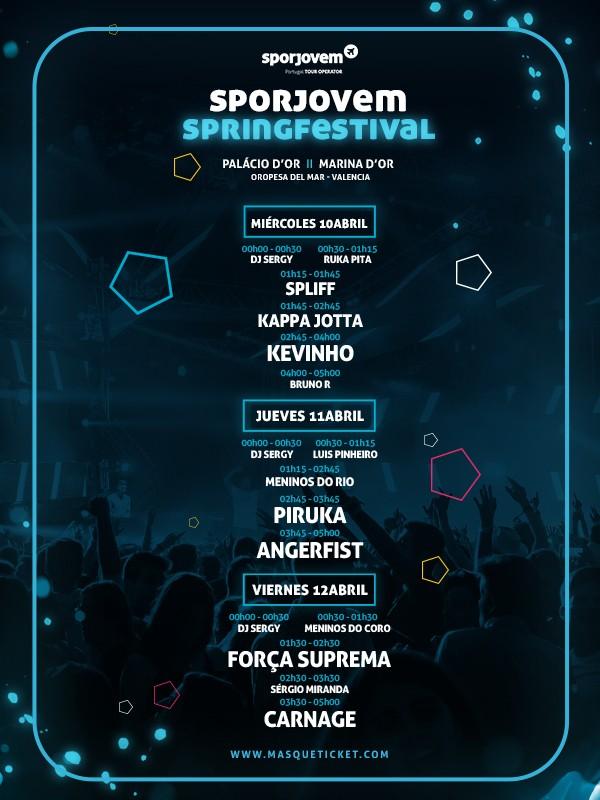 SPORJOVEM SPRING FESTIVAL 2019