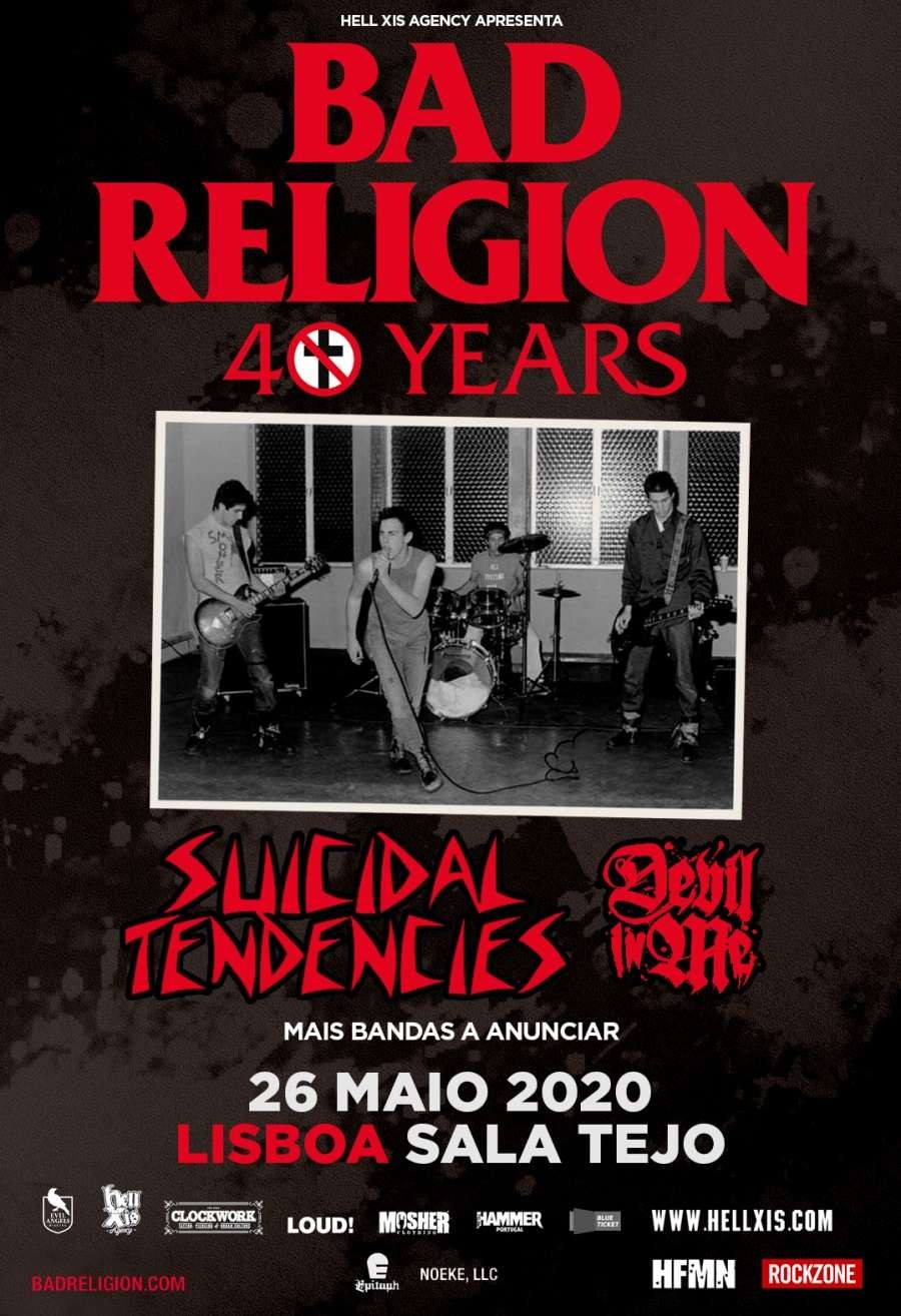 BAD RELIGION + Suicidal Tendencies (Lisboa)