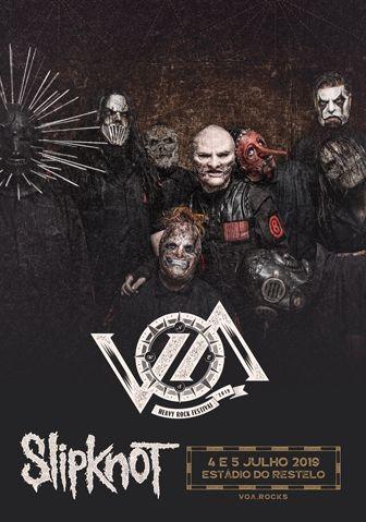 VOA Heavy Rock Festival 2019 en Lisboa (Slipknot...)