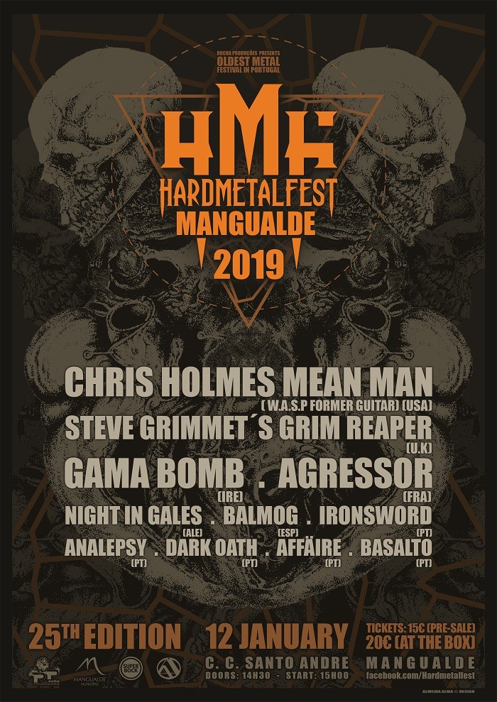 25th MANGUALDE HARDMETALFEST 2019