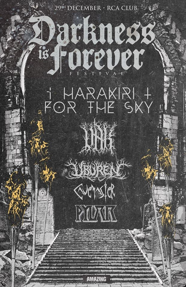 DARKNESS IS FOREVER FEST (Lisboa)
