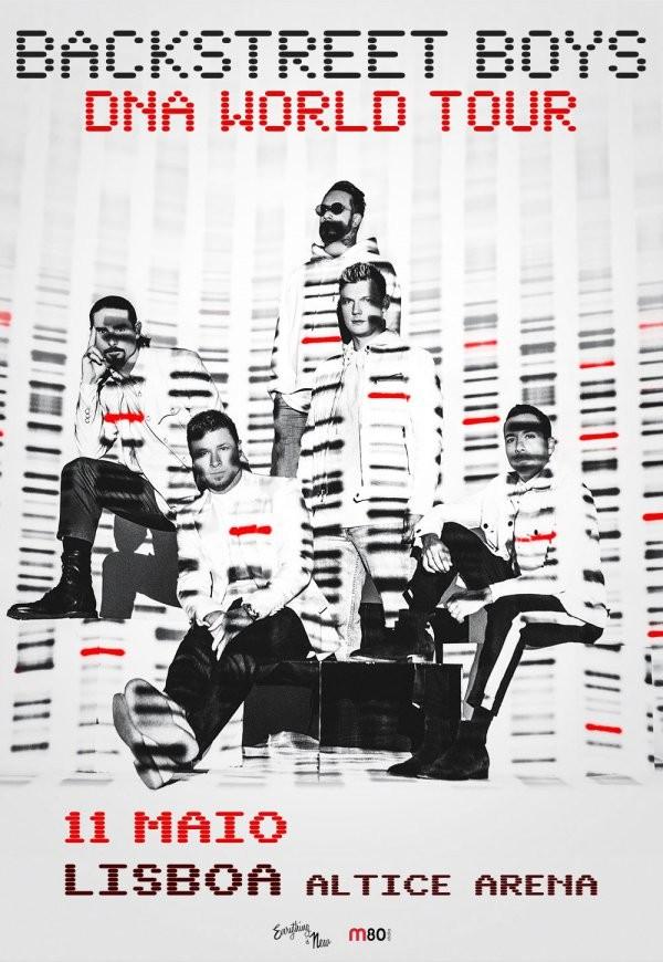 BACKSTREET BOYS - DNA WORLD TOUR (Lisboa)