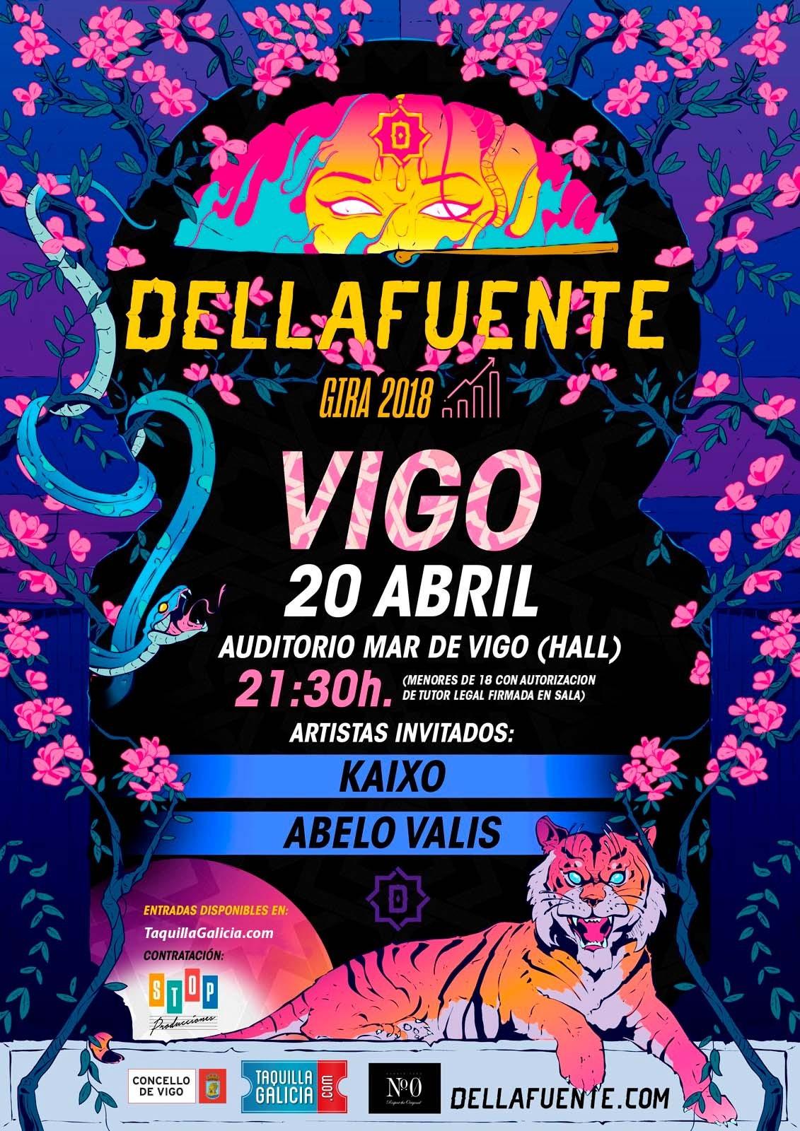DELLAFUENTE + KAIXO + ABELO VALIS (Vigo)