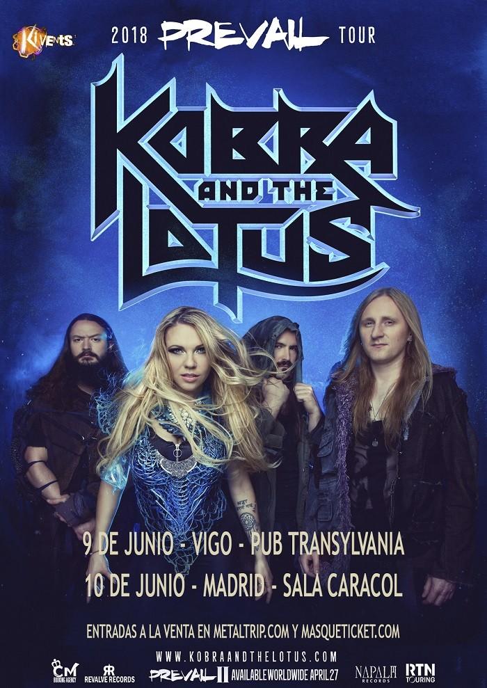 KOBRA AND THE LOTUS (Vigo, Madrid)