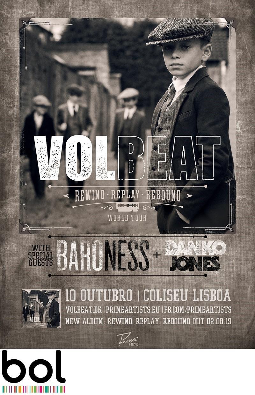 VOLBEAT (Lisboa)