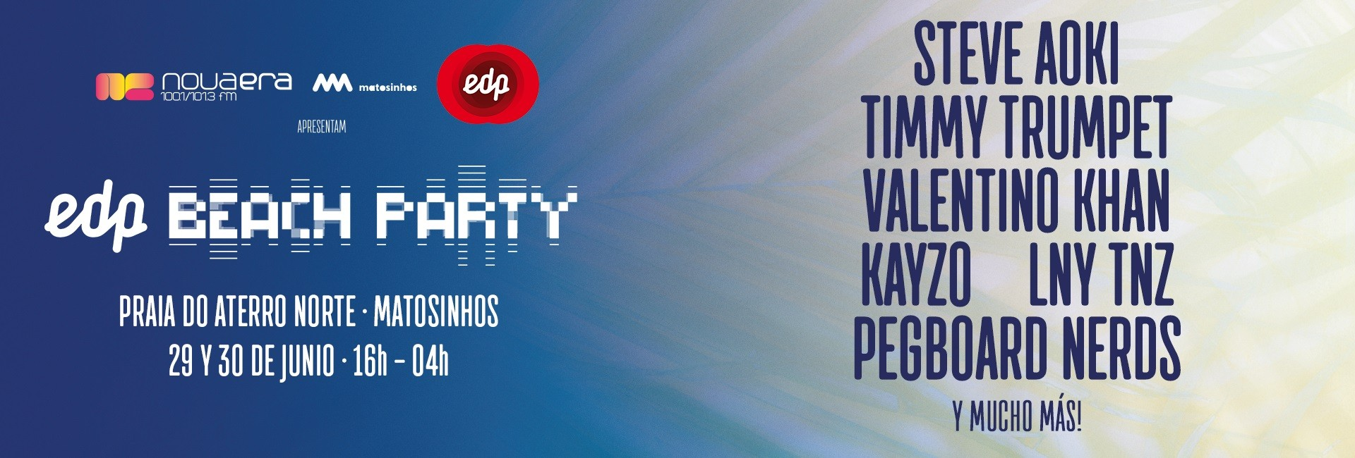 EDP Beach Party 2018