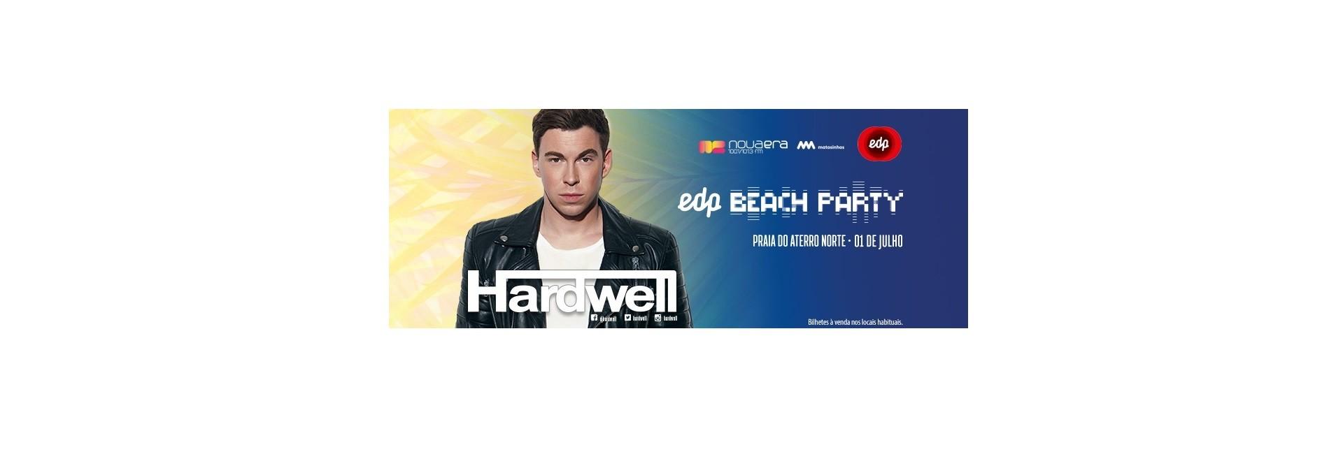 HARDWELL en EDP Nova Era Beach Party 2017